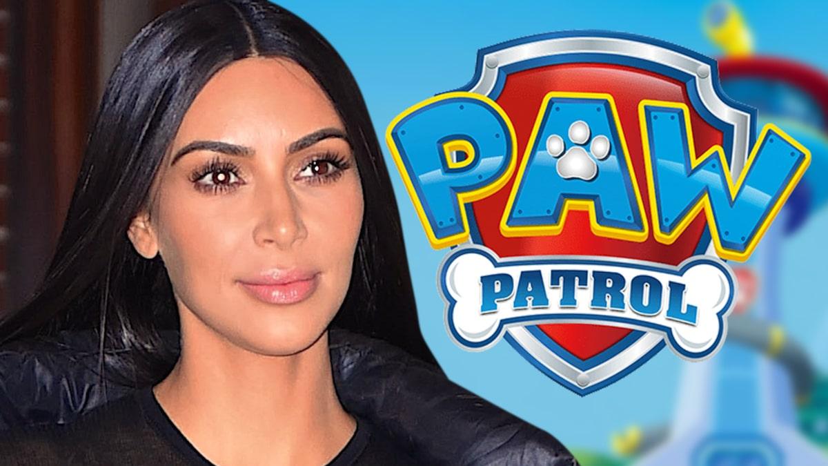 Kim Kardashian's Delores the Poodle Debut in 'Paw Patrol' Movie Trailer