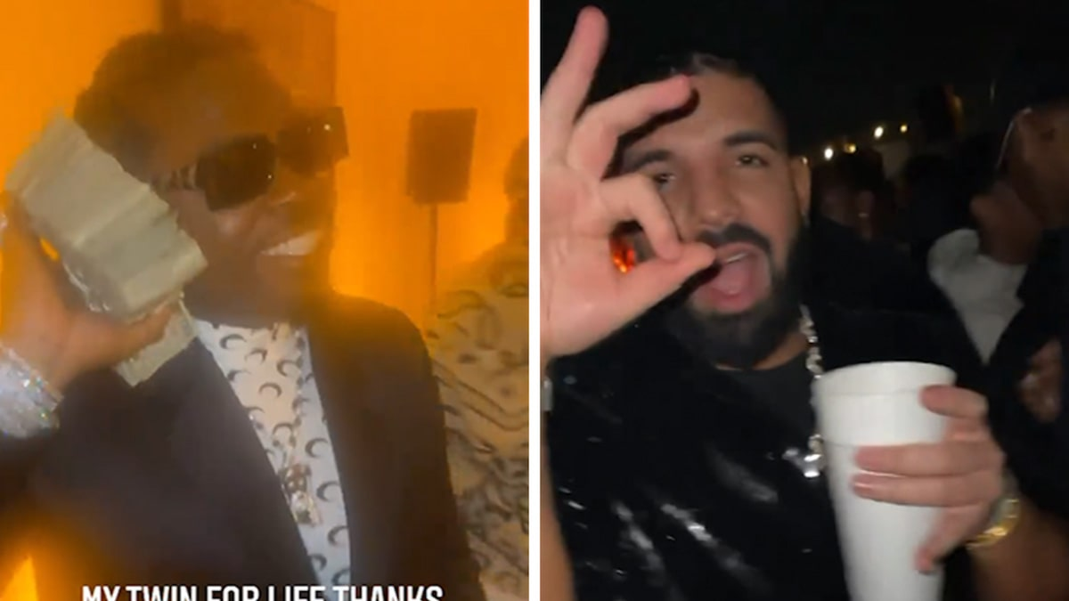 Drake, Future Party with Gunna at His Celeb-Packed 28th Birthday Bash