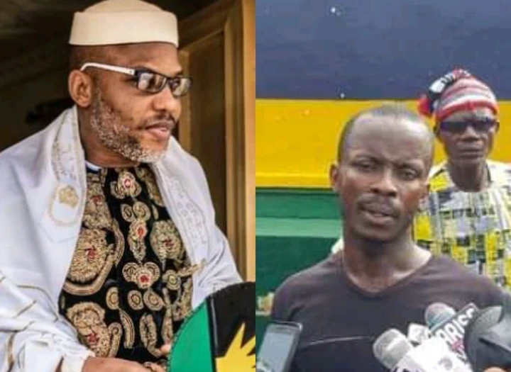 """""""Nnamdi Kanu Asked Us To Burn Down S/East, He Issued Out His Orders Through Dragon,"""" Man Confesses"""