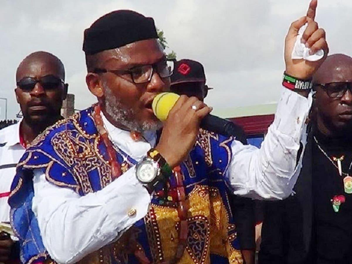 Nigeria is hell on earth - Nnamdi Kanu reacts as Navy moves institute to Kano