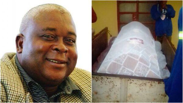 Relatives Dump Dead Body At MDC-T VP Elias Mudzuri's Home