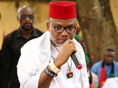 Nnamdi Kanu Names Buhari's Appointee He Suspects To Be Behind Killing Of Jonathan's Ex-aide, Gulak