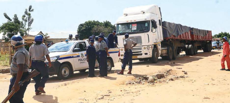 Unlicensed Teen Steals Haulage Truck, Drives More Than 100km