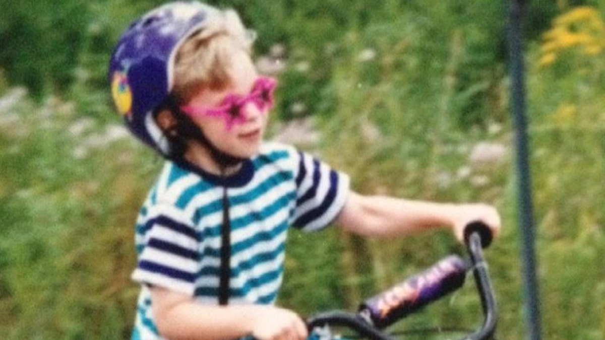 Guess Who This Biker Boy Turned Into!