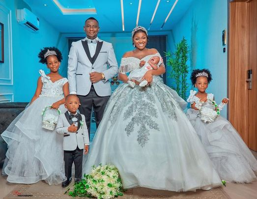 Chacha Eke Faani And Husband Celebrate 8th Wedding Anniversary (Photos)