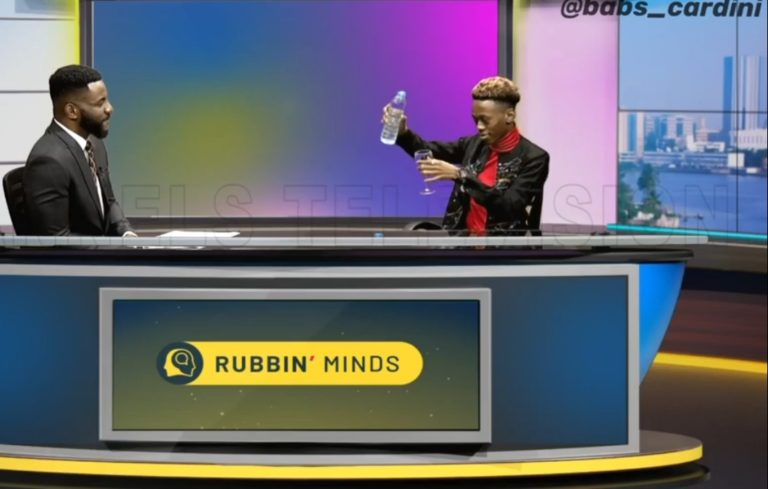 Young Nigerian Magician Turns Water Into Wine During Interview With Ebuka (Video)