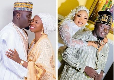 Nigerian Islamic Singer, Aponle Anobi Shows Off His Two Wives, Makes Solemn Promise (Photo)