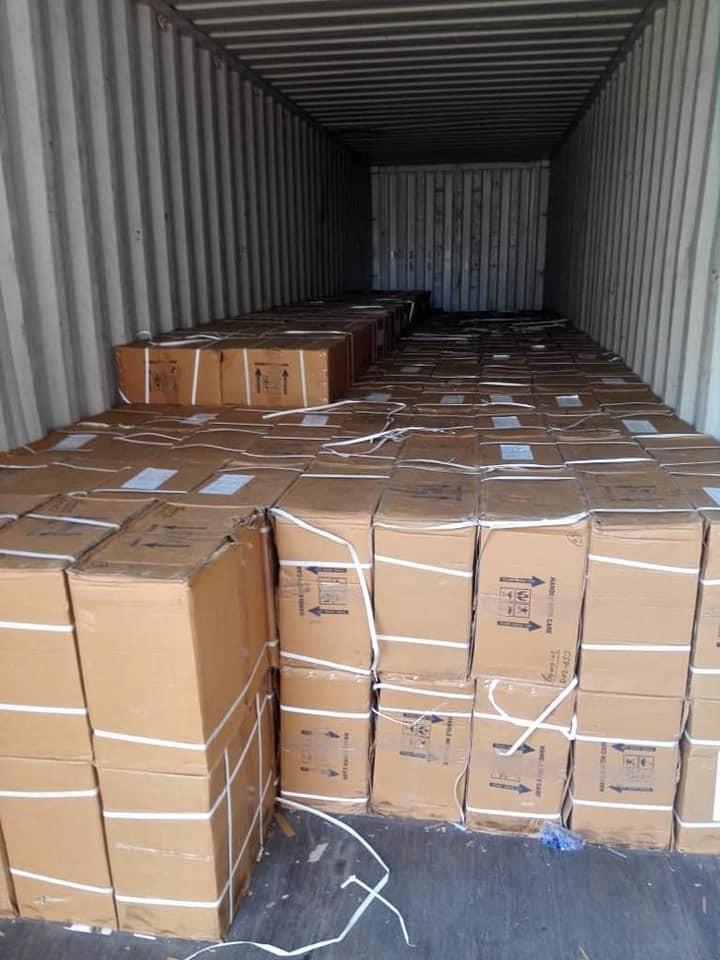 NDLEA Intercepts 100,000 Bottles Of Codeine Syrup At Onne Port (Photos)