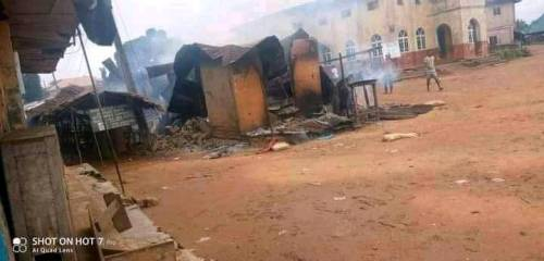 Seven Soldiers Killed In Clash With Unknown Gunmen In Abia Community, Houses Burnt