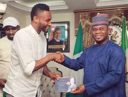 """""""I Support Yahaya Bello, No Better Youth To Lead Nigeria Than Him"""" – Mikel Obi"""