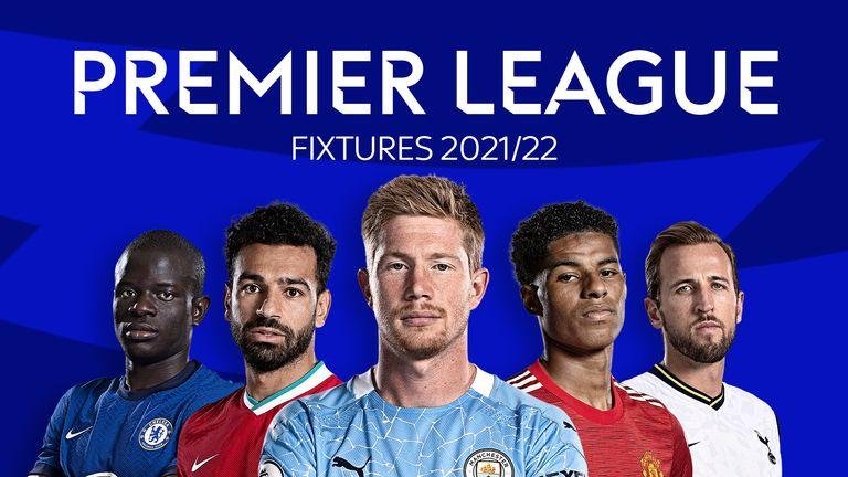 Premier League Releases 2021/22 Fixtures