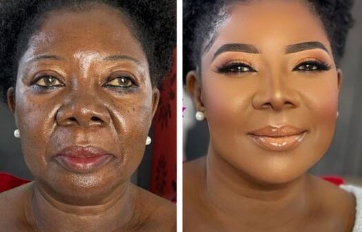 Check Out This Amazing Makeup Transformation Of A 75-year-old Woman