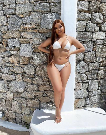 Nengi Flaunts Bikini Body As She Vacations In Greece (Photos)