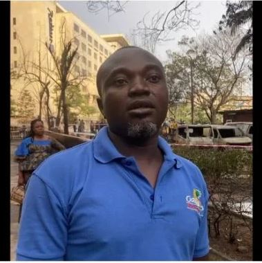 It Seemed Angels Took Me Out Of Lagos Explosion Scene