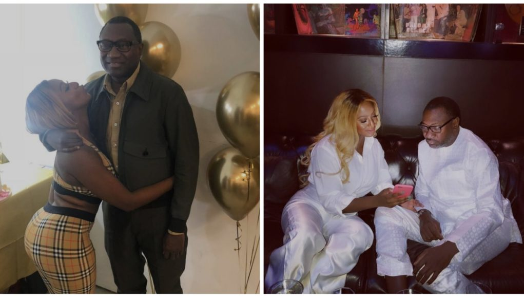 """""""I Beg For Money From My Dad"""" – DJ Cuppy Reveals While Celebrating Him on Father's Day (Photo)"""