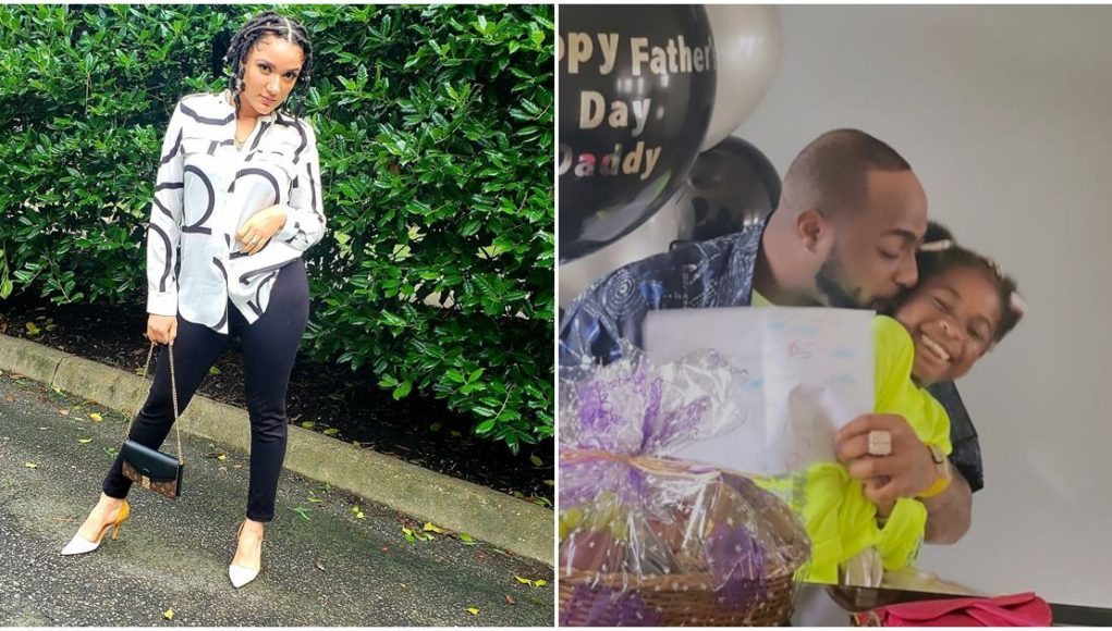 Reality Star, Gifty Snubs Fathers of Her Kids, Celebrates Davido On Father's Day