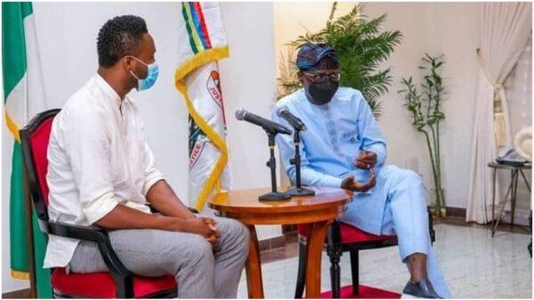 Ex-Super Eagles Star, Mikel Obi Meets Governor Sanwo-Olu (Photo)