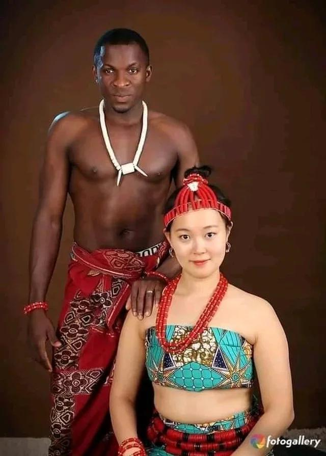 Beautiful Pre-Wedding Pictures Of A Nigerian Groom And His Korean Bride
