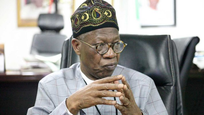 You're Hurting Yourselves – Lai Mohammed Begs Nigerian Youths To Stop Using VPN