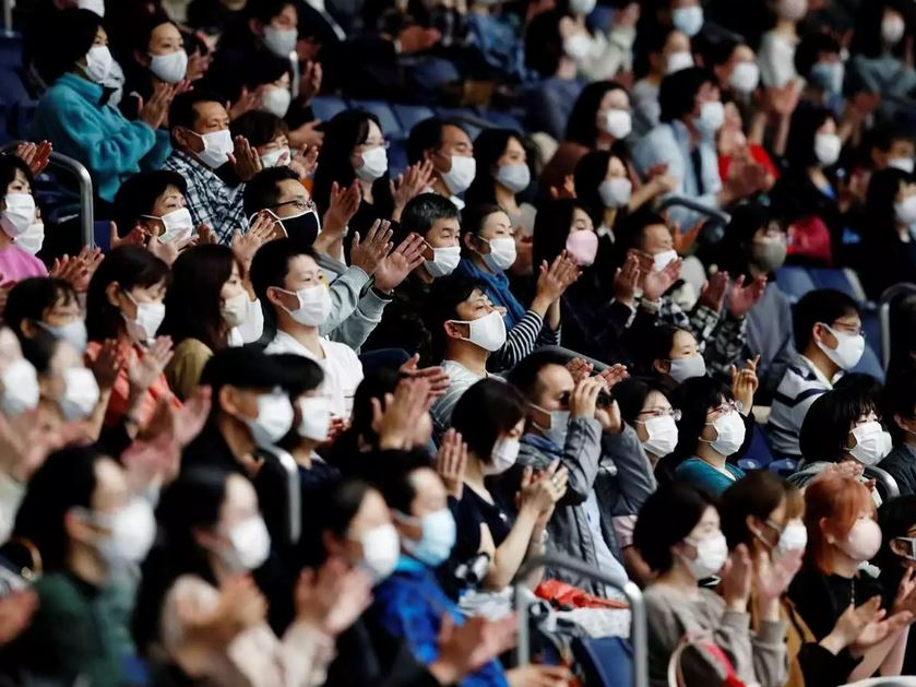 Fans At Tokyo Olympics Allowed To Clap Not Cheer
