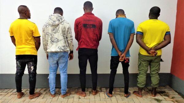 EFCC Arrests 10 Suspected Internet Fraudsters In Enugu, Exotic Cars Recovered (Photos)