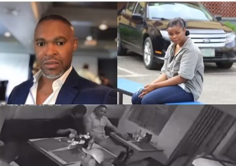CCTV Footage of Chidinma Ojukwu and SuperTV CEO, Usifo Ataga At a Restaurant Before She Allegedly Killed Him (vVdeo)