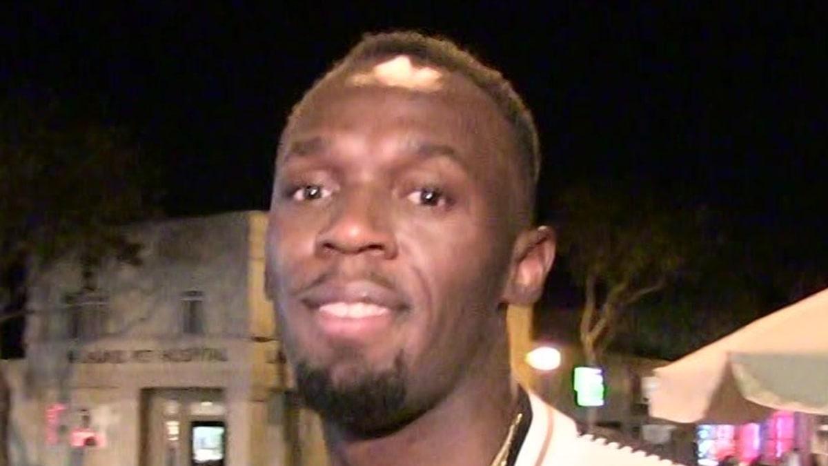 Usain Bolt Introduces Newborn Twins, Saint & Thunder Bolt