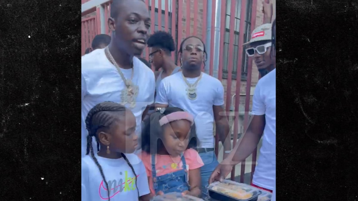 Bobby Shmurda Helps Struggling Dads for Father's Day, Free Cuts & Meals