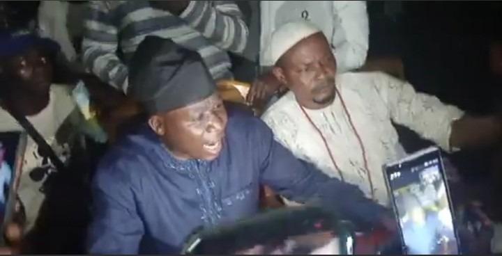 Sunday Igboho, Jumps,Fence ,Ewi Of Ado-Ekiti ,Refuses, Entrance, Palace,