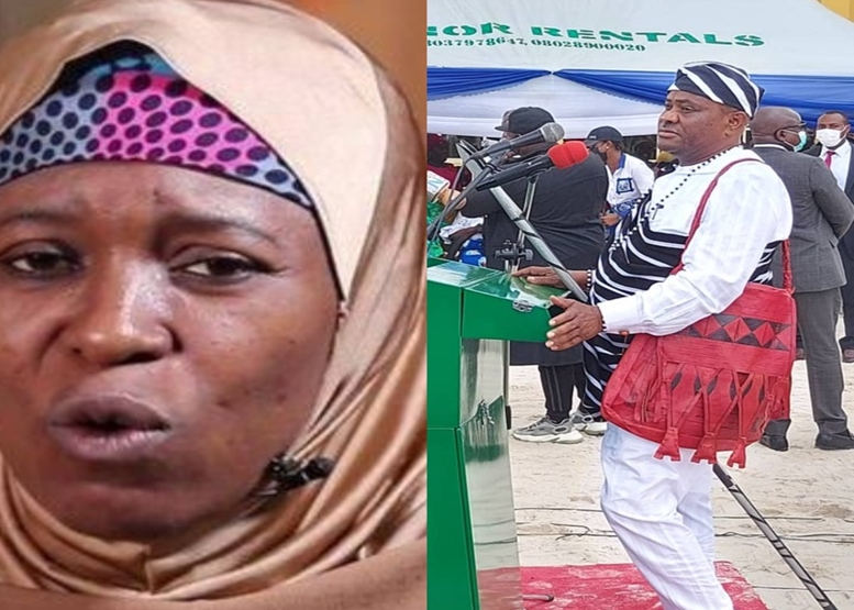 Aisha Yesufu replied Gov Wike after he mocked IPOB of being killed despite their charm