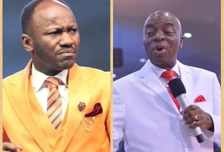 """""""Bishop Oyedepo's Ministry has 11 Bank Accounts In Billions In Reserved"""" - Apostle Johnson Suleman"""