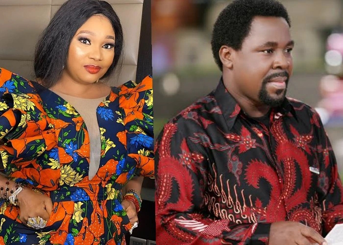 Actress Jayeola Monje Says She Was Visited By The Spirit Of Late TB Joshua