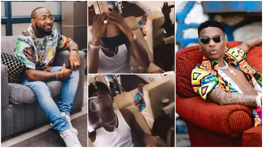 Wizkid Sings and Dances to Davido's Song Gets People Talking, His Video Goes Viral