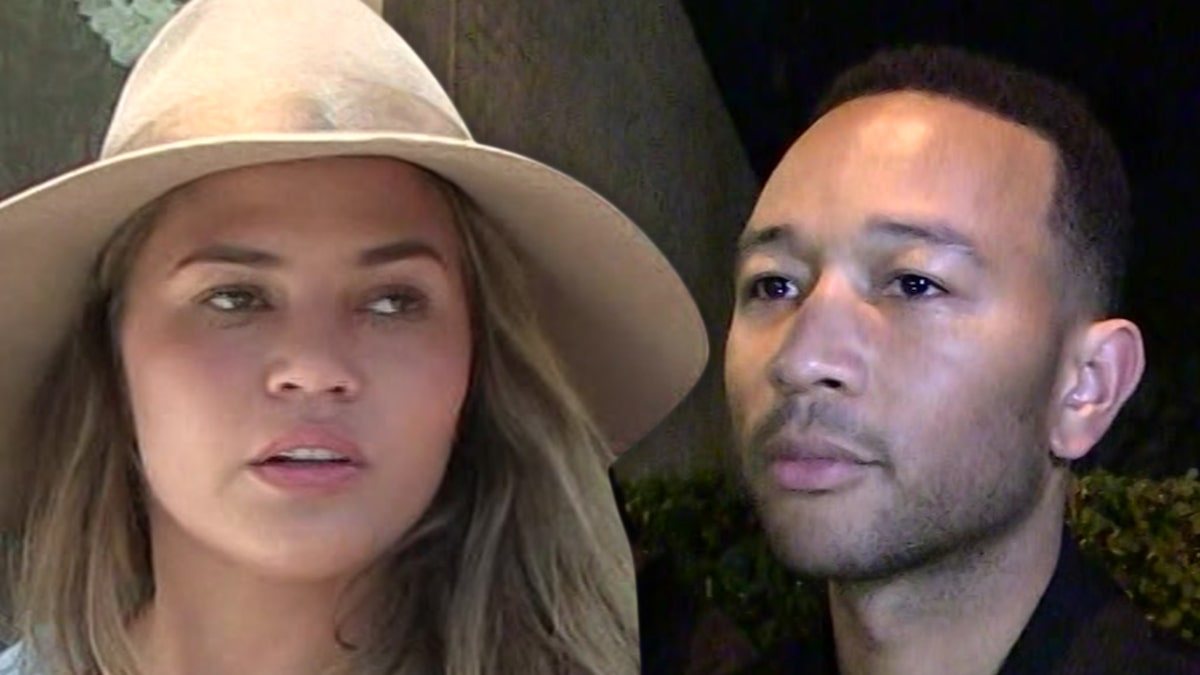 Chrissy Teigen is 'Fresh Out of Tears' in Father's Day Post for John