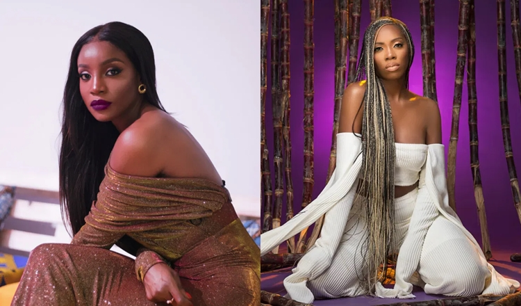 Seyi Shay vibes to Tiwa Savage's song days after messy fight (Video)