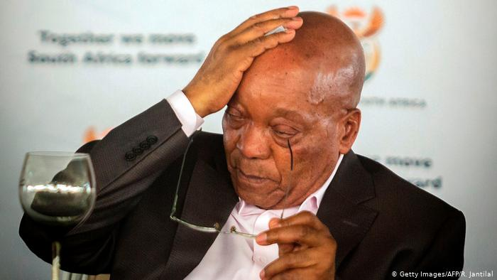 Nandos Pokes Fun At Jacob Zuma After He Was Sentenced To 15 Months In Prison