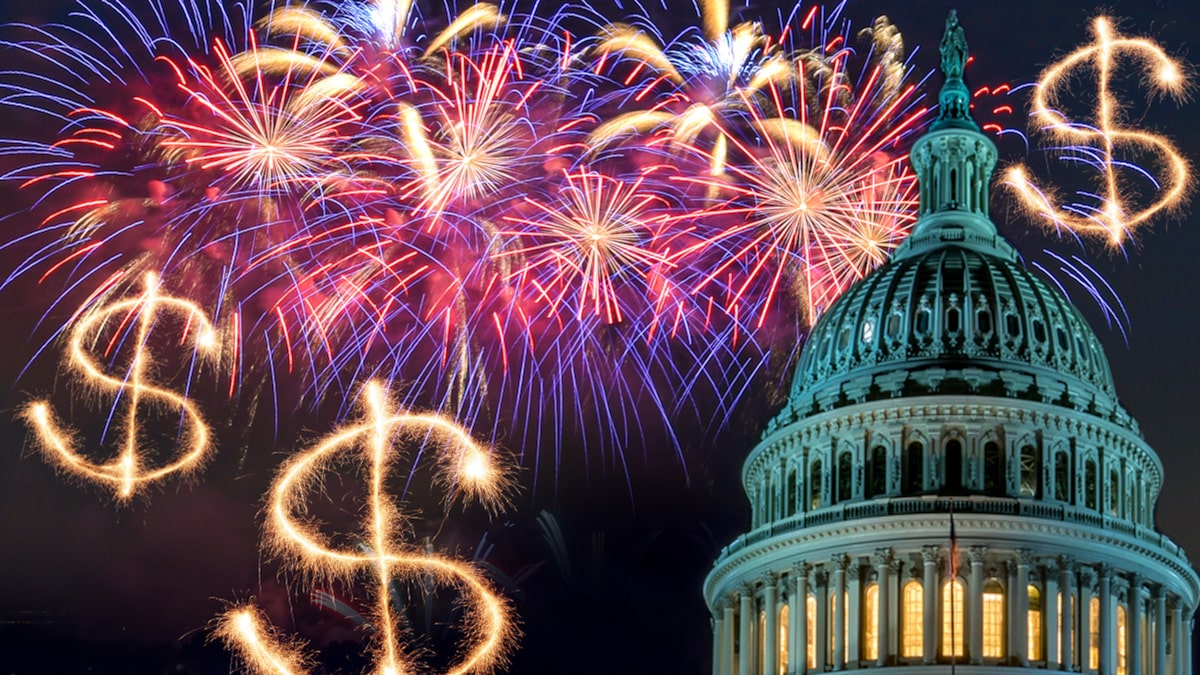 Fourth of July Fireworks Show at National Mall Costs $280k