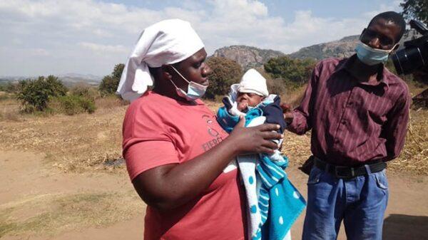Woman gives birth to baby with no reproductive organ