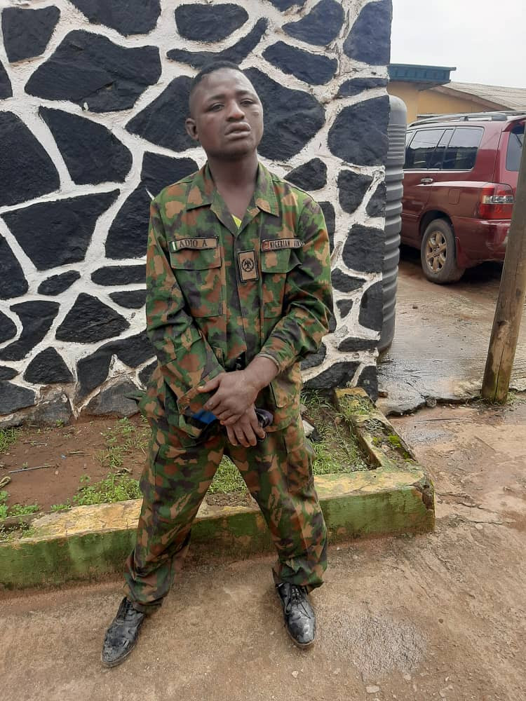 Man Kidnaps Soldier Steals His Uniform, Uses It To Commit Crime