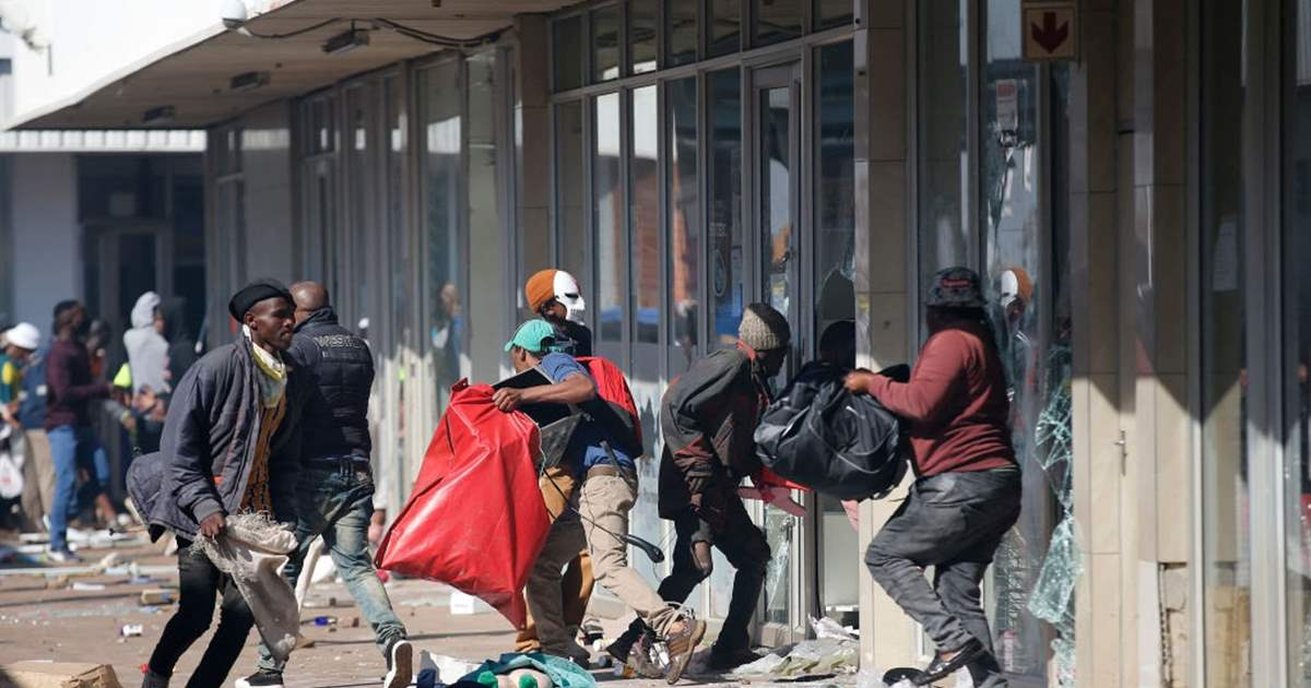 South Africa Says Recovered Looted Goods Will Be Destroyed To Protect Economy