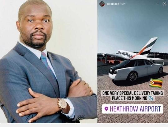 Deputy Minister Tino Machakaire Responds To Social Media Claims That He Splashed US$770,000 On A Rolls Royce Phantom