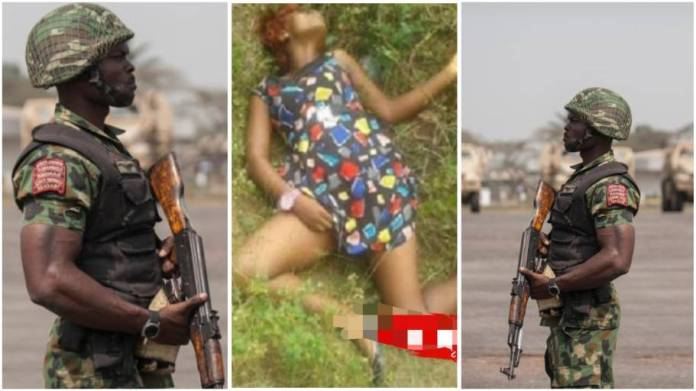 Soldier Kills Girlfriend After She Denied His Marriage Proposal