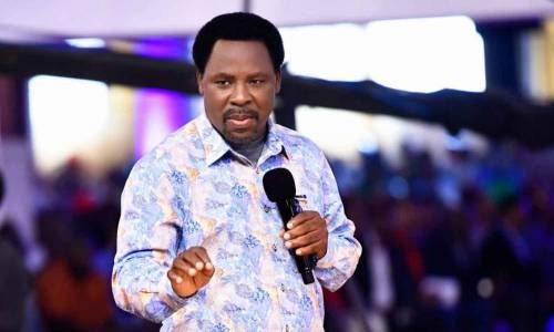 How TB Joshua Saved Local Governments From Darkness, Governor Akeredolu Narrates As Late Cleric Is Buried