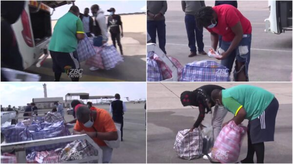 WATCH: Zimbabweans Deported From UK Speak After Arrival