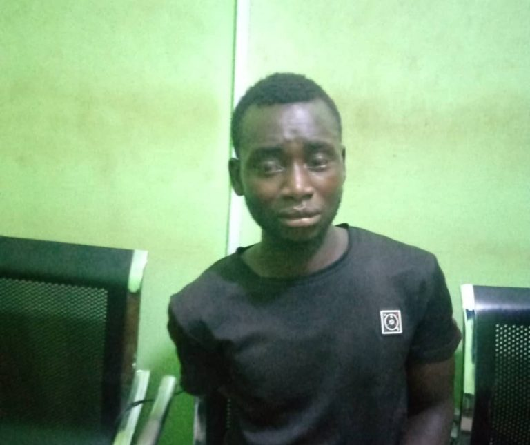 Face Of Young Kidnapper Arrested In Edo (Photo)