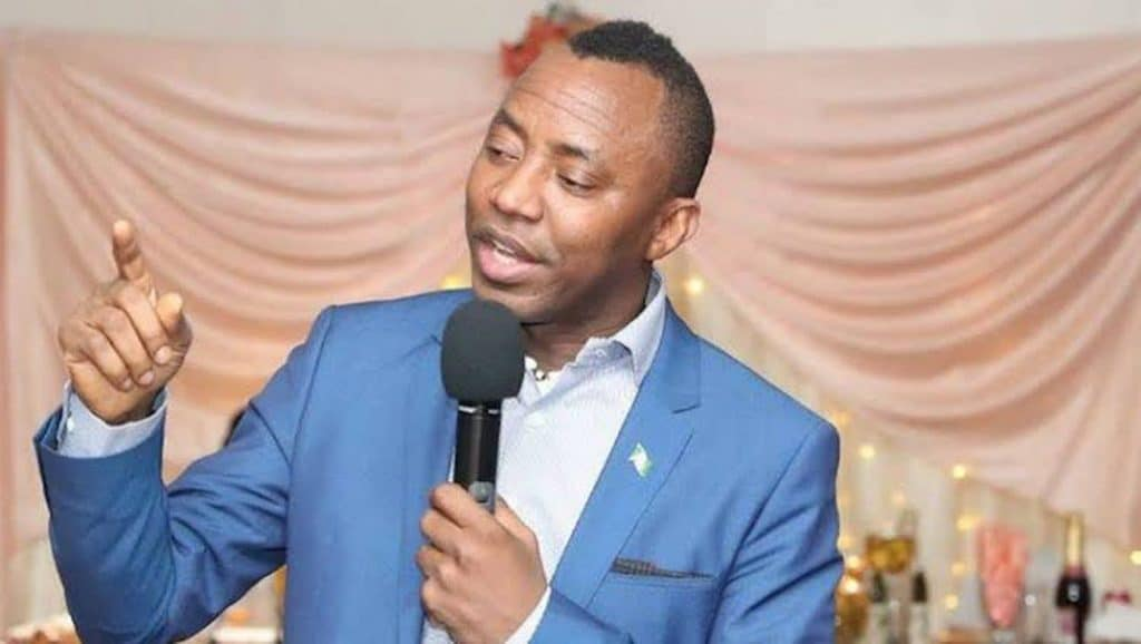 Sowore Reacts As Stray Bullet Kills 14-Year-Old Girl