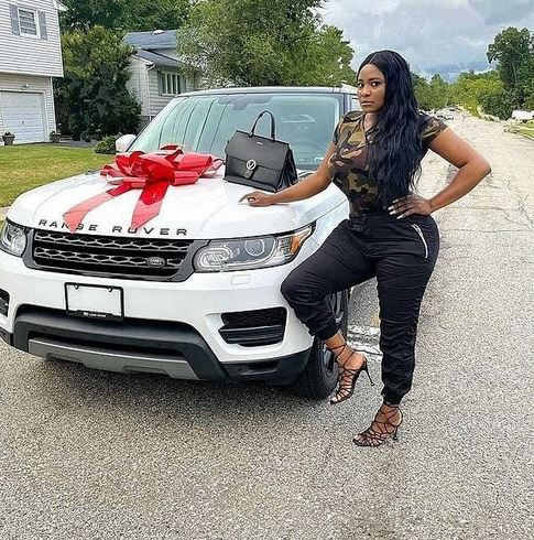 Nollywood Actress, Sonia Ogiri Buys A Range Rover, Her Third Car In 7 months