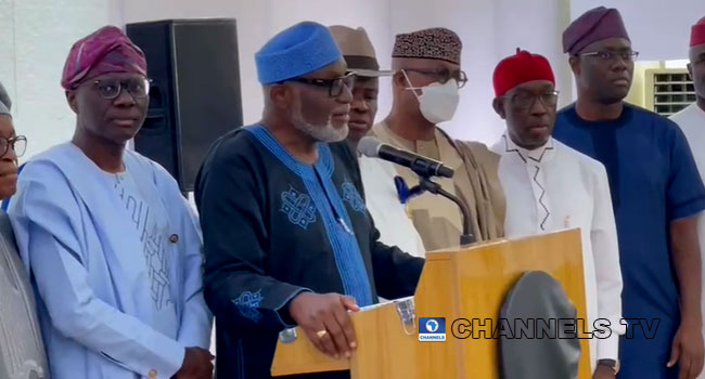 Southern Governors Reject Amendment to Electoral Act, PIB (Full Statement)