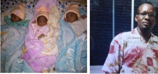 Nigerian Couple Welcome Triplets After 12 Years of Marriage (Photos)
