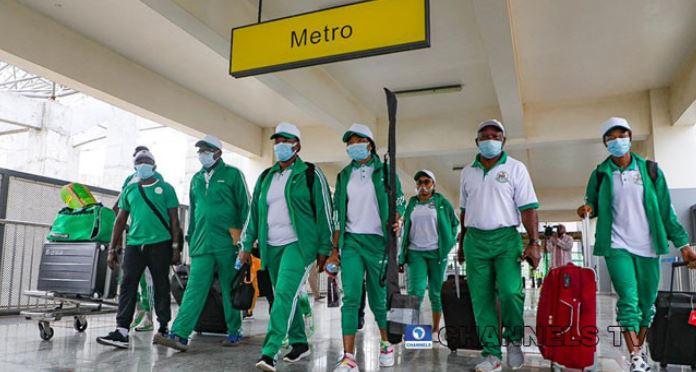 Team Nigeria's First Batch Departs For Tokyo (Photos)